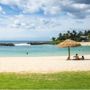 夏威夷欧湖岛5日游 珍珠港+小环岛风光+玻里尼西亚民俗风情