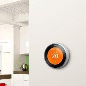 低至7.6折 $199起Google Nest Learning Thermostat3代智能温控器 家电热卖中