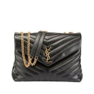 1a8a31bd272 Saint LaurentLoulou Monogram YSL Medium Quilted V-Flap Chain Shoulder Bag.   1750.00  2150.00. Saint Laurent Loulou ...