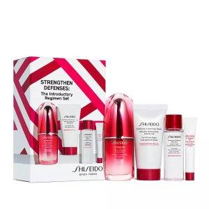 $59.5+送好礼Shiseido 红妍精华套装热卖 价值$117