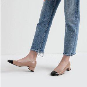小香风 低跟鞋
