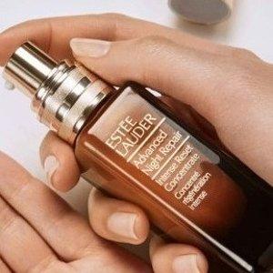 送正装唇釉(价值$45)上新:Estée Lauder  新款小棕瓶夜间修复精华