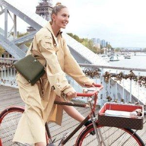 带有定位器、避震装置LV出自行车了?LV x Maison TAMBOITE合作款奢华单车来啦