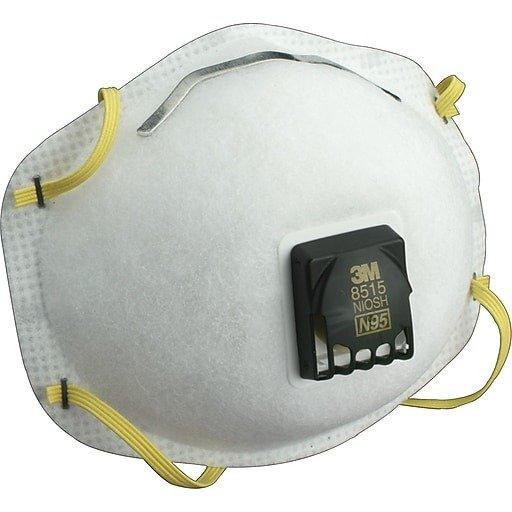 3M N95一次性口罩 阻挡无油颗粒10个