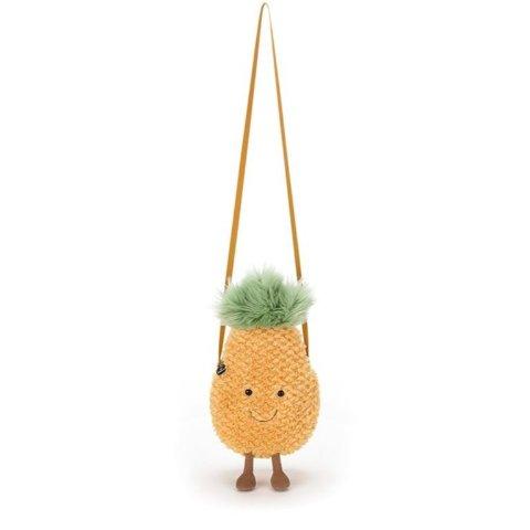 9折 菠萝包、草莓包补货£17收Jellycat 全场好折 软绵绵治愈系玩偶
