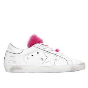 36码到手¥1997史低价:Golden Goose 女款粉色毛毛脏脏鞋