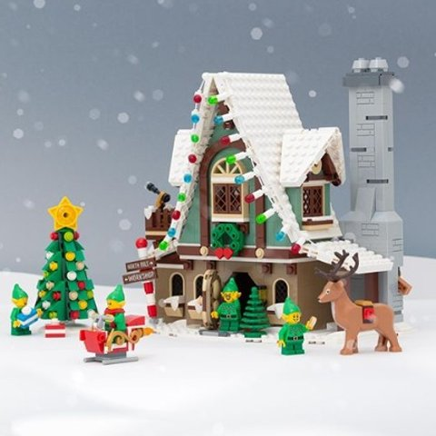 €7.99起收LEGO 圣诞主题上新开售 这个圣诞不如在家拼拼乐高吧