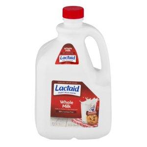 Lactaid 100% Lactose Free Whole Milk, 3 Quarts, 96 Fl. Oz. - Walmart.com