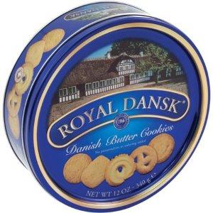 $3.48Royal Dansk 皇家丹麦曲奇礼盒340g