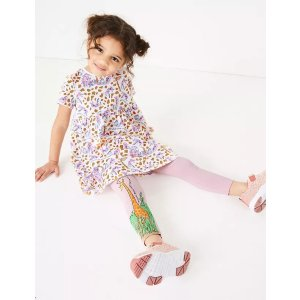 Roald Dahl™ & NHM™ Giraffe Leggings (2-7 Yrs)