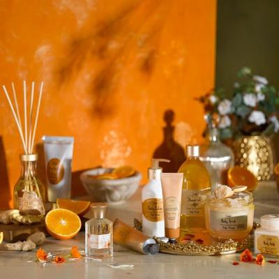 1件9折 2件8.5折 3件8折Sabon 全场姜橙味身体护理热卖 在家轻松做SPA
