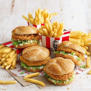 买1送1 全澳参加KFC 肯德基风味Zinger Burger特卖 仅限App