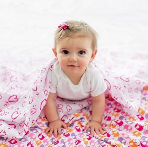 7折+额外8.5折Zutano 宝宝纱布包巾、小毯子特卖 平价好货,A+A绝佳替代款