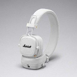 MarshallMajor III 折叠蓝牙耳机 白色