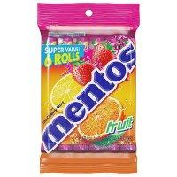Mentos 综合水果口味软糖 6条