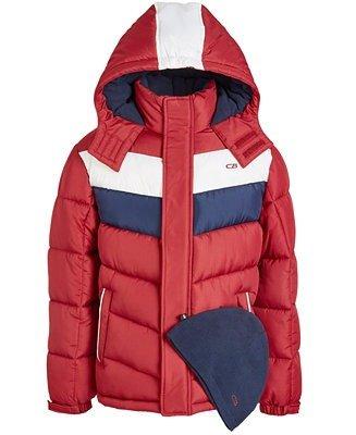 男大童保暖外套