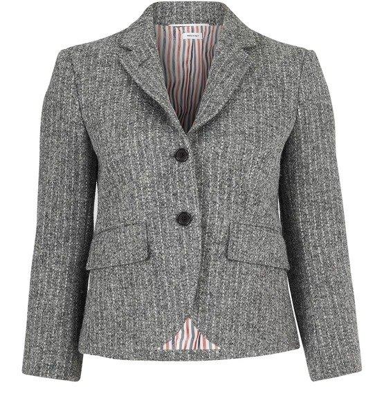 Striped tweed 夹克