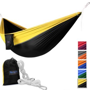 $7.99Yes4All Single Lightweight Camping Hammock with Carry Bag