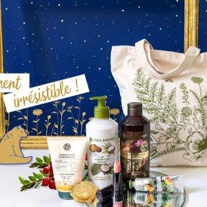 5样产品+封面tote包=€19.9Yves Rocher 法国国民洗护品牌热卖 满满一包自选福袋抱回家