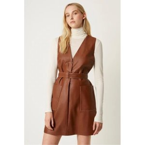 French ConnectionAbri Leather Dress