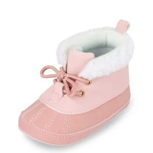 The Children's Place女婴软底保暖靴