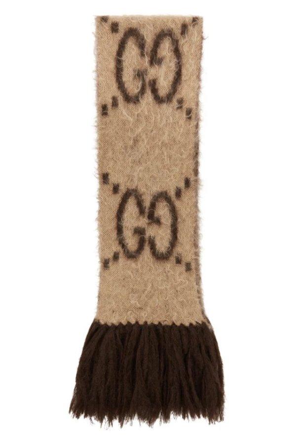 GG马海毛围巾