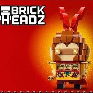 $12.99起  唤你做英雄上新:LEGO官网 悟空小侠 新系列  收方头仔齐天大圣
