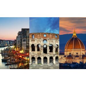 人均£189起 机票酒店都包含纯玩意大利 6日度假套餐 浪漫罗马假日+威尼斯+佛罗伦萨