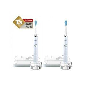 Philips白色电动牙刷两只装