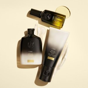 低门槛享8折+满送好礼Oribe 头发护理热卖 收黄金发油 受损发质看准它