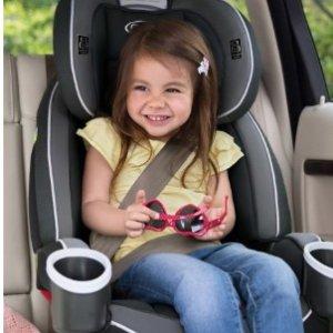 粉色 $159.99史低价:Graco 4ever 4合1可调节婴幼儿车用安全座椅