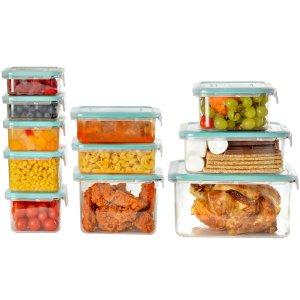 $14.81(原价$29.98)Wellslock 食物保鲜盒22件 2色可选