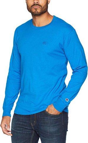 $9.60Champion Men's Classic Jersey Long Sleeve T-Shirt