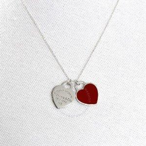 Tiffany & Co.爱心项链