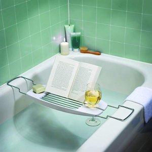 $6.6AmazonBasics 泡澡专用浴缸书架