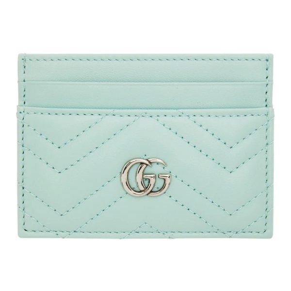 GG Marmont 绿色卡包