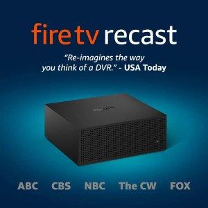 Fire TV Recast 电视节目录像机 支持ABC, CBS, FOX, NBC, PBS等