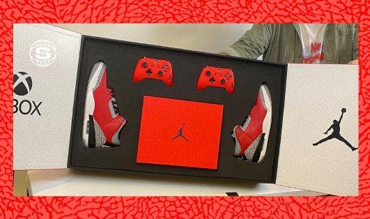 Xbox x Jordan Brand 全新联名礼盒内容公开Xbox x Jordan Brand 全新联名礼盒内容公开
