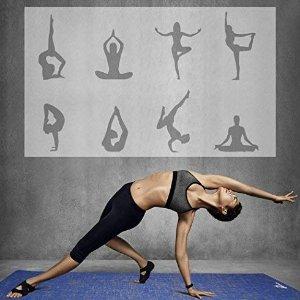低至4折,不出门也能运好动Amazon精选健身多用途防滑瑜伽垫热卖