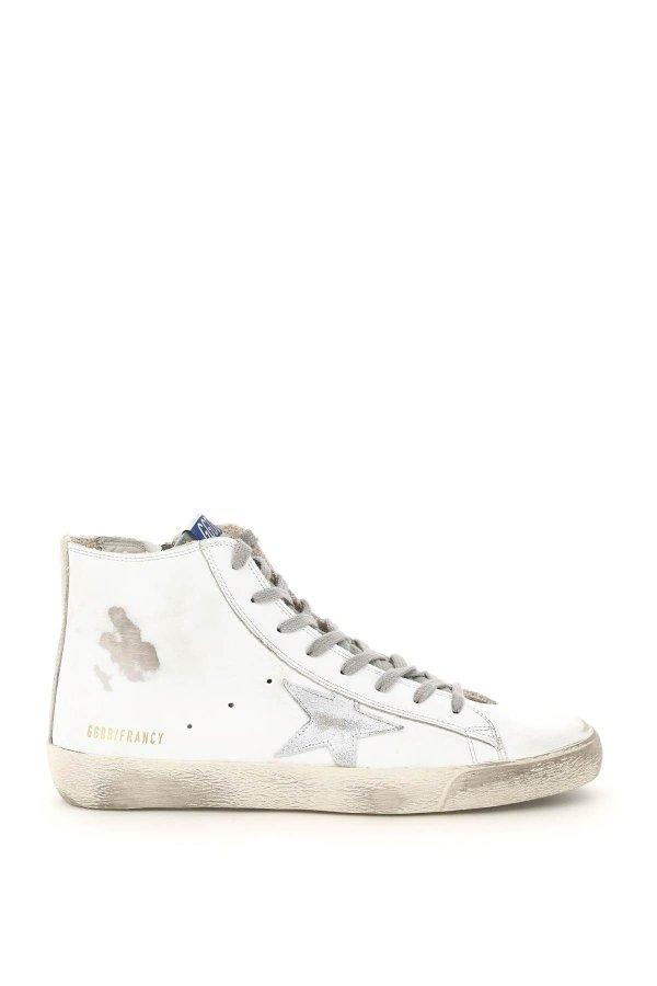 高帮星星小脏鞋
