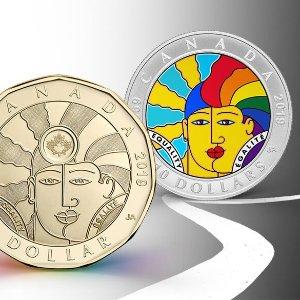 正在发售中 $49.95起加拿大发行 LGBTQ2 新硬币 纪念币 梦幻般的收藏品