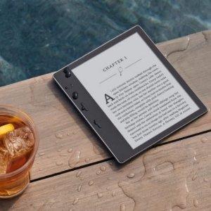 首次降价!$329.99(原价$389.99)Amazon Kindle Oasis 电子阅读器 7英寸屏幕 8G 超薄防水~