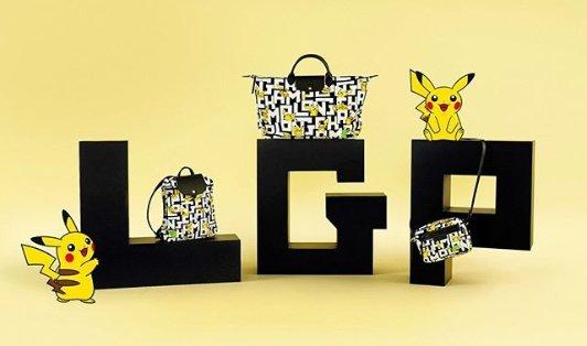 Longchamp x Pokémon 合作款正式发售Longchamp x Pokémon 合作款正式发售