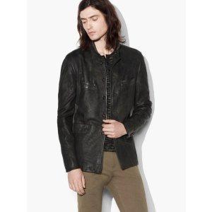 Vintage Inspired Leather Jacket