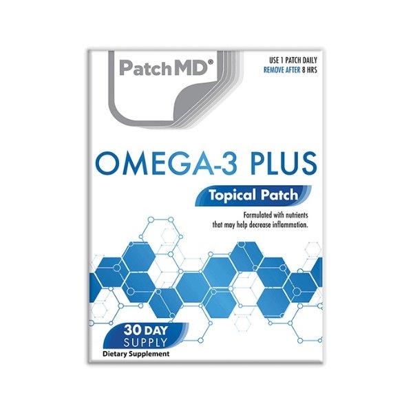 Omega 3补剂贴片