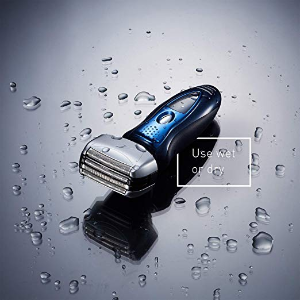 $79.99Panasonic ES8243A Arc4 Electric Razor for Men, 4-Blade Cordless Shaver, Wet-Dry with Linear Motor and Flexible Pivoting Shaver Head