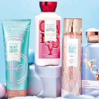 $5.95限今天:Bath & Body Works部分季节沐浴露、身体乳特价
