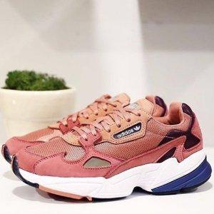 新色上市,$105 (原价$140)最后一天:Adidas Originals Falcon 金小妹同款老爹鞋,长腿神器