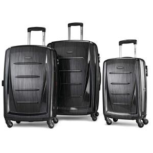 史低¥1242逆天价:新秀丽 Winfield 2行李箱3件套 20寸+24寸+28寸