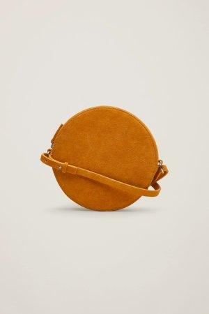 Circular shoulder bag